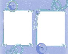 Frame Blue - 438_350