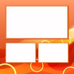 Orange - 3 Photos - Square