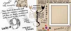 Scorpio - (Oct 23-Nov 21) Mug
