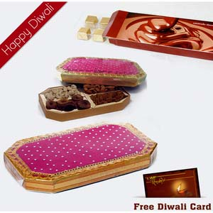 2 diwali dryfruit chocolates hamper 2