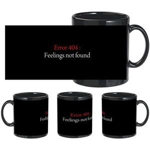 404 not found black mug