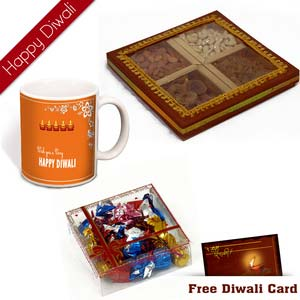 6 diwali dryfruit chocolates hamper 6