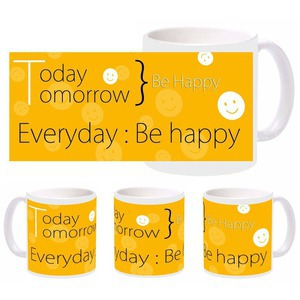 always be happy mug