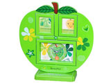 Apple Shape Photo Frame with Clock