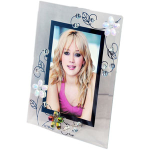 artistic glass photo frame 4x6