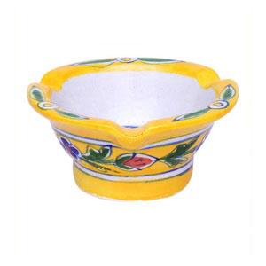 ashtray yellow gift