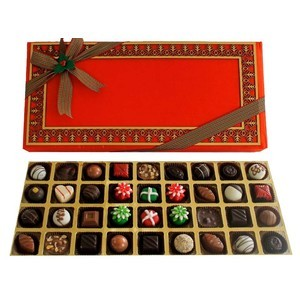 assorted truffles christmas treat 2017