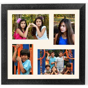 astro photoframe with 4 frames gift white bg