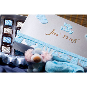 baby boy box of joy premium chocolates