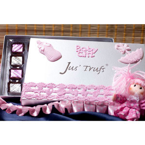 baby girl box of joy premium chocolates