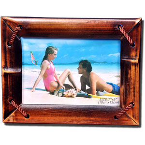 bamboo wooden photo frame