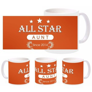 beautiful allstar aunt mug
