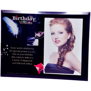 Birthday Wishes for Someone Special Quotation Frame - image