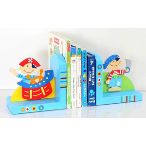 bookend pirate blue