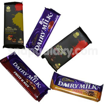 cadbury assorted premium chocolate bars 5 pcs