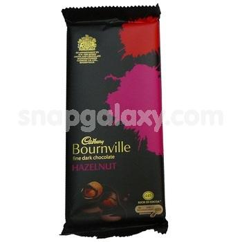 cadbury bournville hazelnut 90g