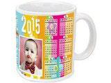 Calendar Photo Mug