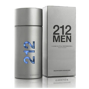 carolina herrera 212 men 100ml premium perfume