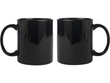 Ceramic Black Mug Combo of 2 pcs