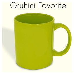 ceramic green mug