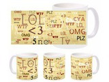 Chat Words Wtf Mug
