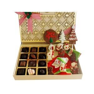 christmas and new year chocolates designer treat 2017