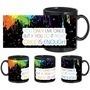 Colorful Life Black Mug - image