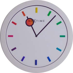colour change by walter jonker designer clock from nextime 3048