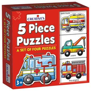 creative 5 piece puzzles