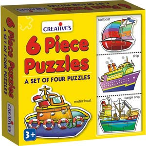 creative 6 piece puzzles