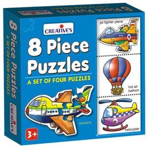 creative 8 piece puzzles
