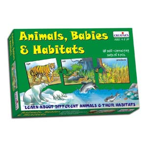 creative animal babies and habitats