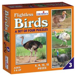 creative birds 4 puzzles three