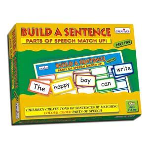 creative build a sentence ii
