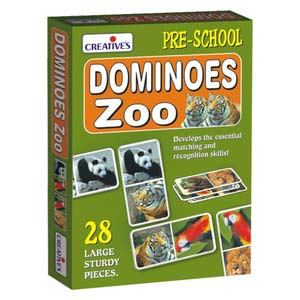 creative dominoes zoo