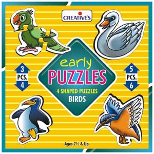 creative early puzzles birds