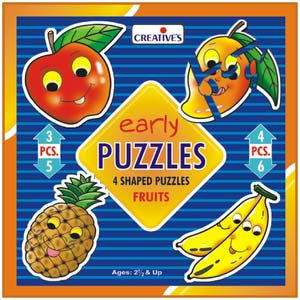 creative early puzzles fruits