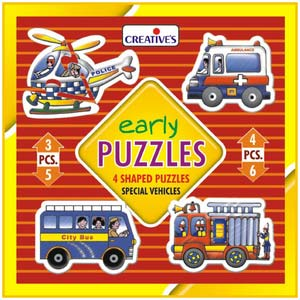 creative early puzzles special vehicles