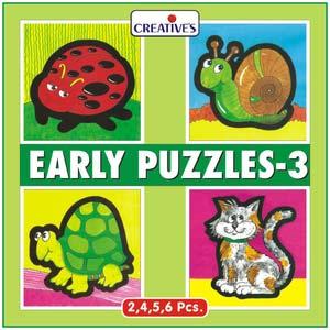 creative early puzzles three
