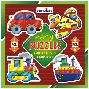 creative early puzzles transport
