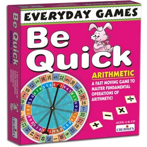 creative everyday games be quick arithmetic