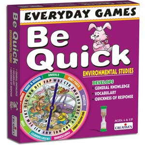 creative everyday games be quick environmental studies