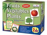 Creative's Fruits, Vegetables & Their Plants (2 in 1)