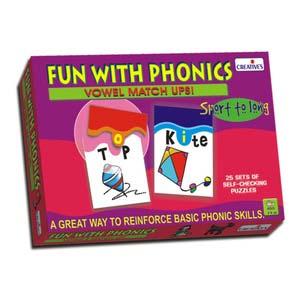 creative fun with phonics vowel match ups
