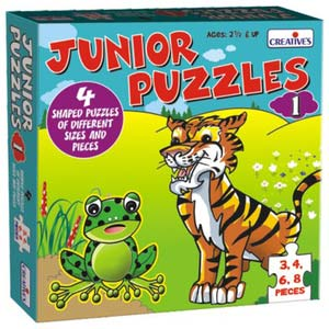 creative junior puzzles one