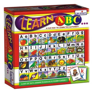 creative learn abc