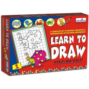 creative learn to draw one