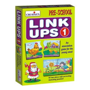 creative link ups 1 10 two piece puzzles