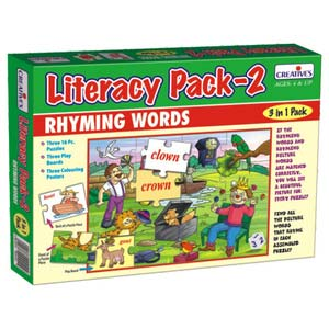 creative literacy pack ii rhyming words