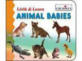 Creative's Look & Learn Board Book - Baby Animals